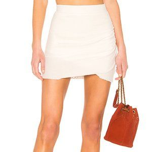 Lovers+Friends Voyage Mini Skirt Ivory